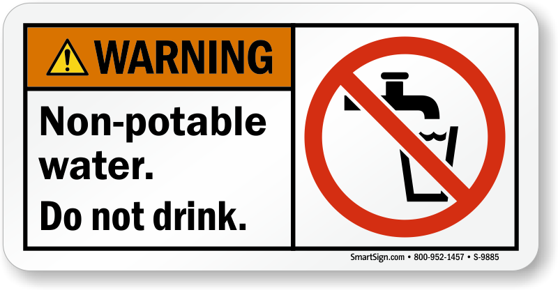 Do Not Drink Nonpotable Water Signs  Mysafetysignm. Valentine Stickers. Printed Wallpaper Murals. House Wall Murals. Nautical Logo. Javascript Logo. Church Worship Banners. Sandwich Board Signs Of Stroke. Urban Logo