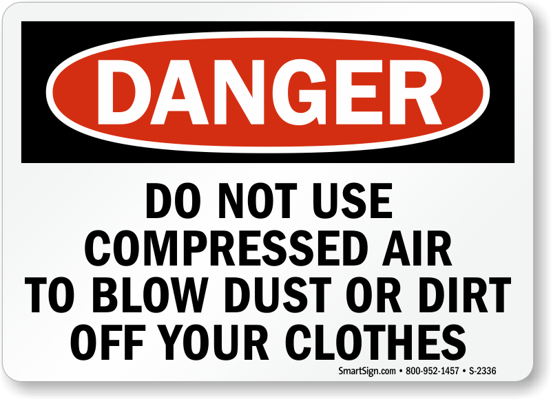 how to use compressed air to clean laptop