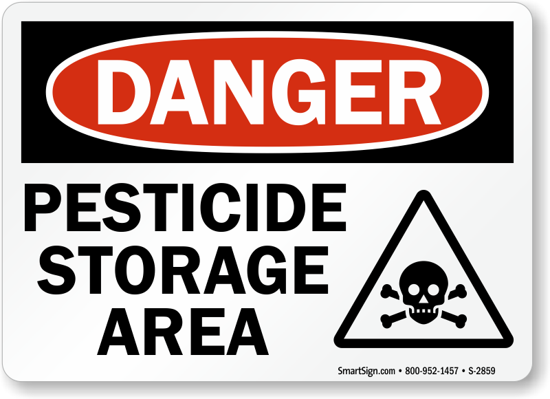 Pesticide storage area with poison graphic osha danger sign sku osha danger sign pesticide storage area with poison symbol s 2859 learn more publicscrutiny Image collections