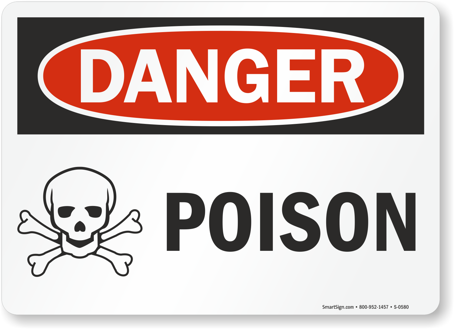 Poison Warning Signs Poisonous Chemicals Warning Signs