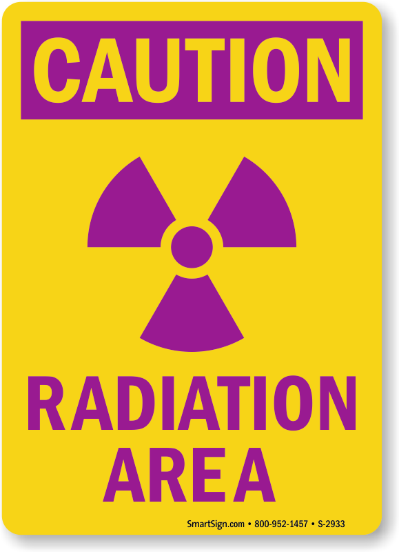 Radiation Area Signs Radiation Warning Signs At Best