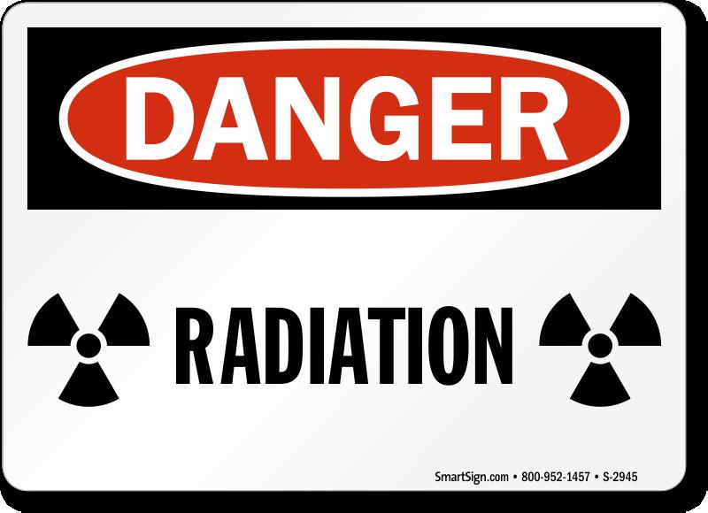 Radiation Warning Sign... Radiation Sign