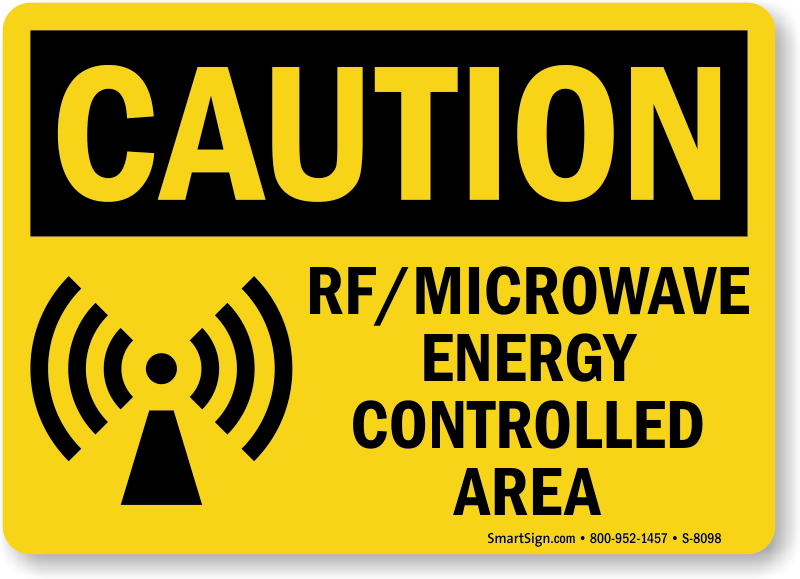 Microwave Safety Signs Mysafetysign
