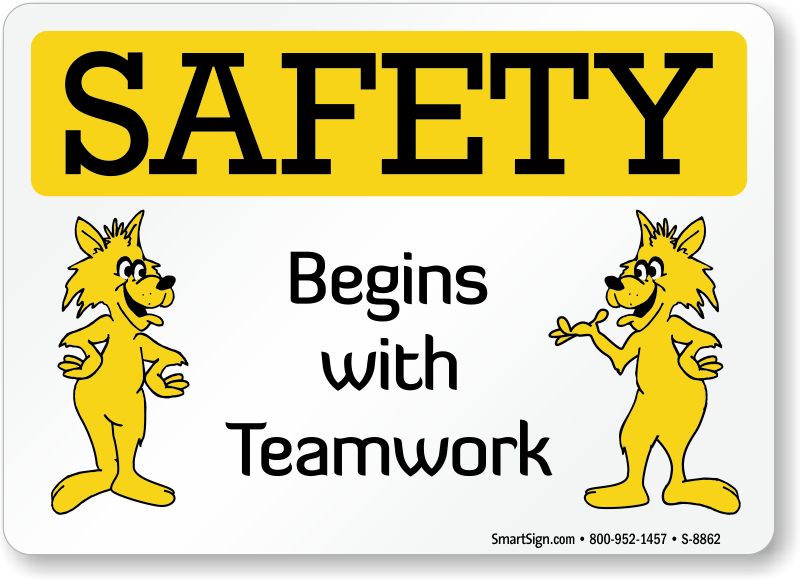 cartoon safety signs   mysafetysign