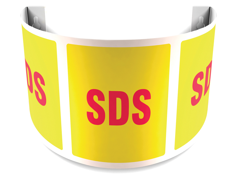 180 Degree Projecting SDS Sign