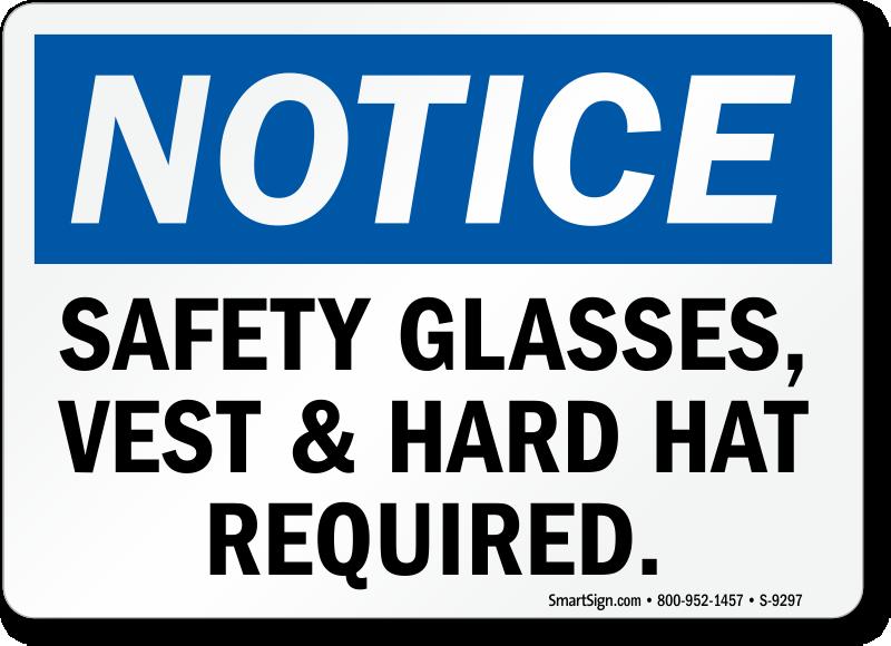 Bathroom Notice Signs safety vest signs - mysafetysign