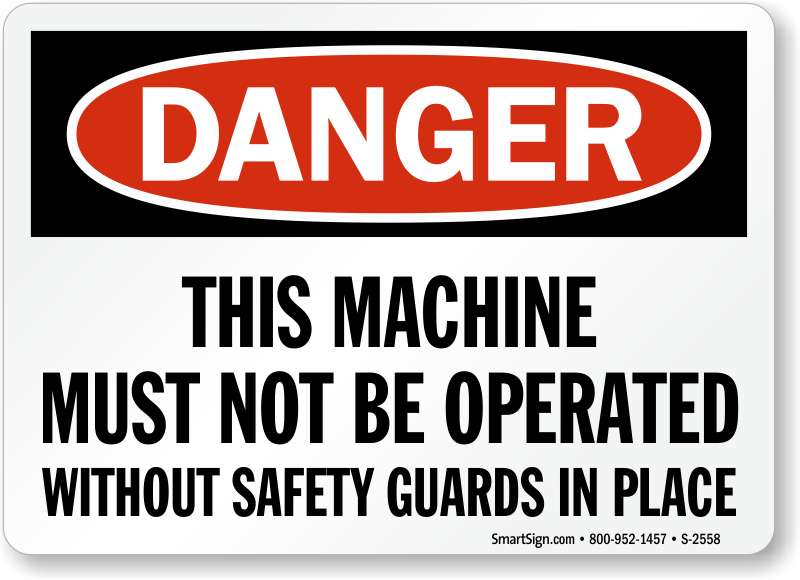 machine guarding safety