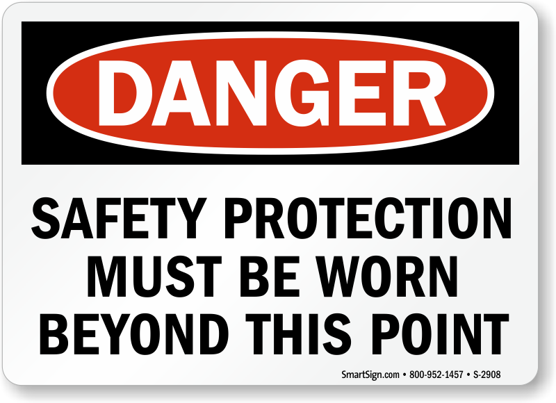 The most effective way to communicate possible hazards in the workplace or jobsite is to display safety signs. Protect your workers and avoid costly fines by ensuring your safety sign is visibly noticeable, has a clear and concise message, is printed on the right .