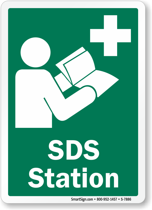 SDS Station Sign With Graphic