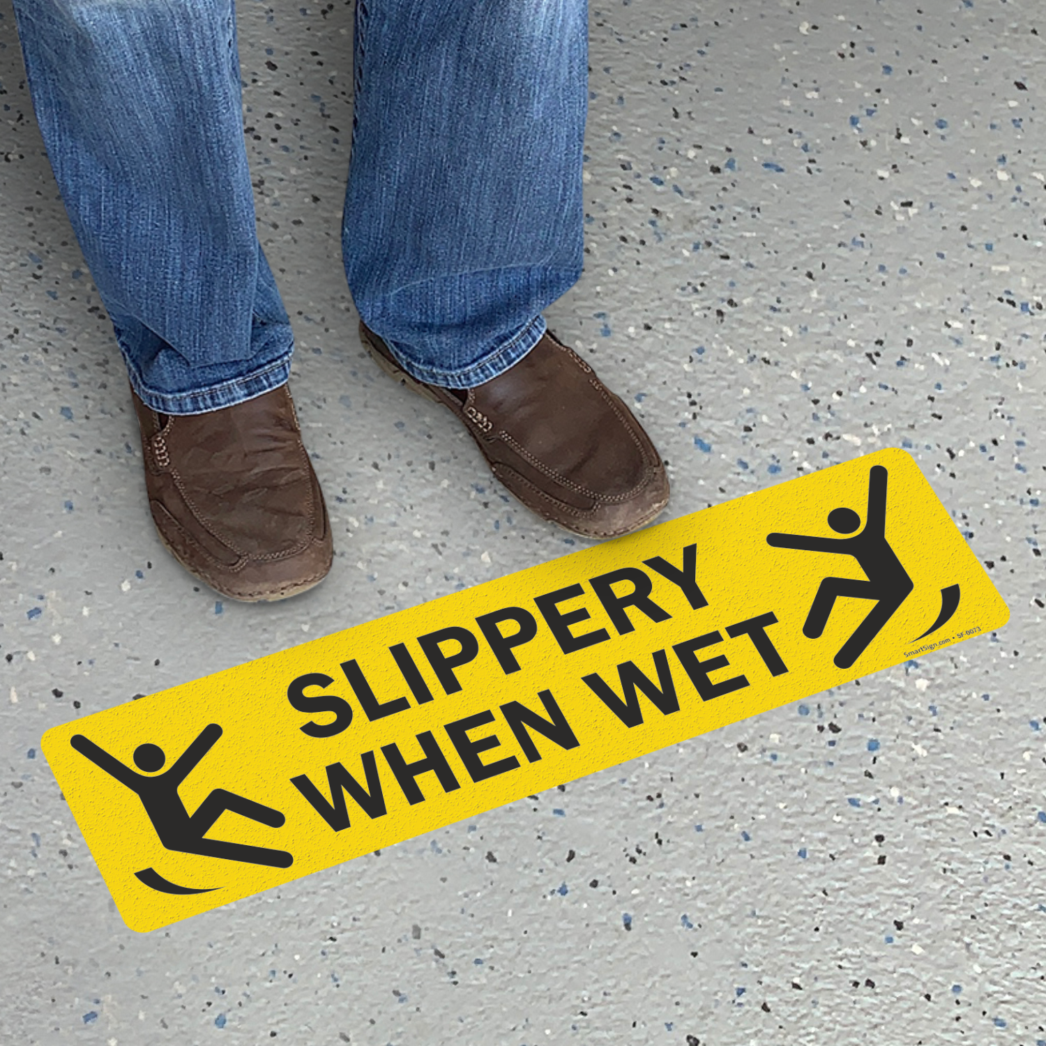 Slippery When Wet Floor Slipsafe And Gripguard Sign Sku