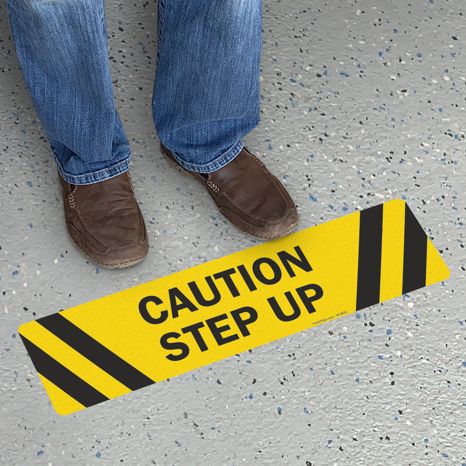 Step Up Signs Amp Step Down Signs Mysafetysign Com