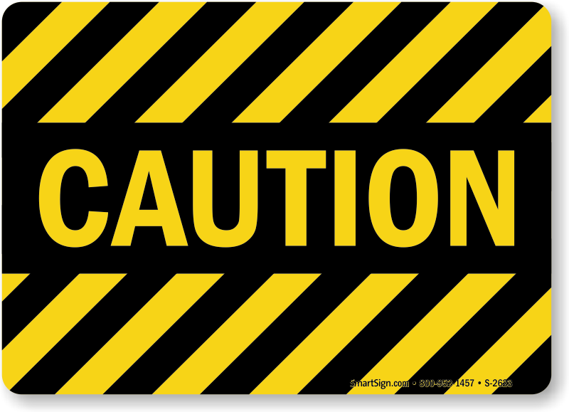 Caution With Stripes, Machine Hazard Sign, SKU: S-2623 ... | 800 x 579 png 70kB