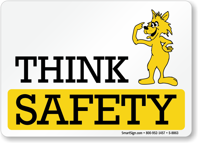 Image result for be safe cartoon