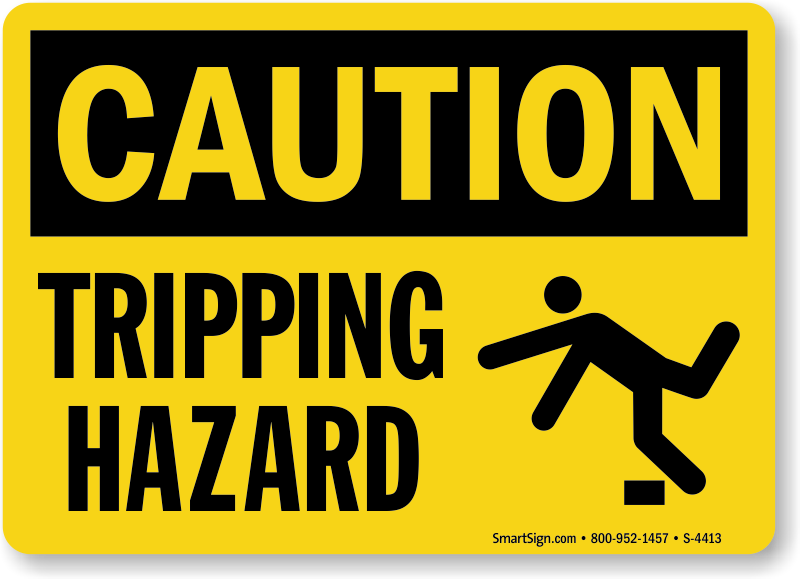 Slip And Trip Warning Signs MySafetySigncom