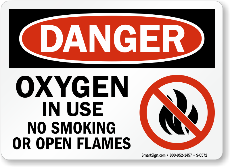 Crush image intended for oxygen in use sign printable