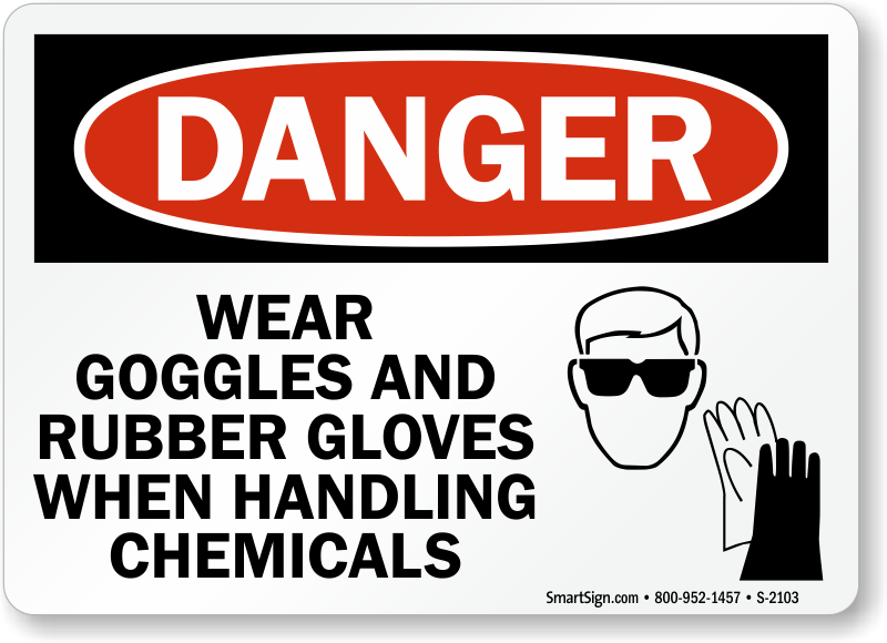 Wear Goggles Signs Mysafetysign Com