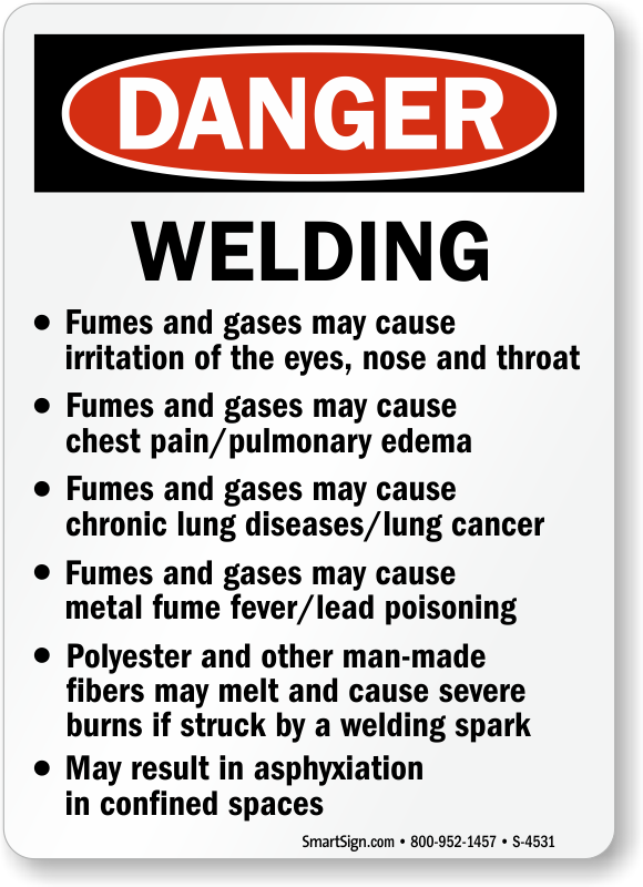 Welding Safety Signs Welding Area Signs