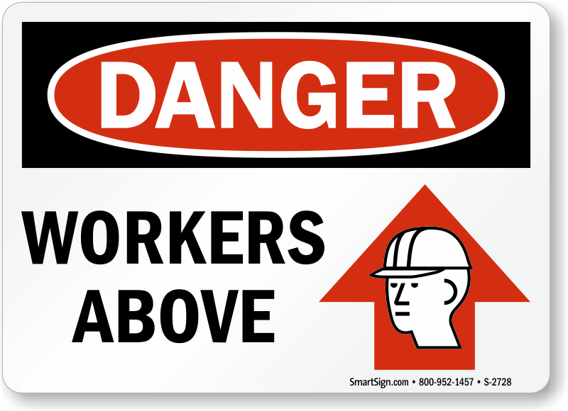 Men working above signs mysafetysign zoom price buy sciox Gallery