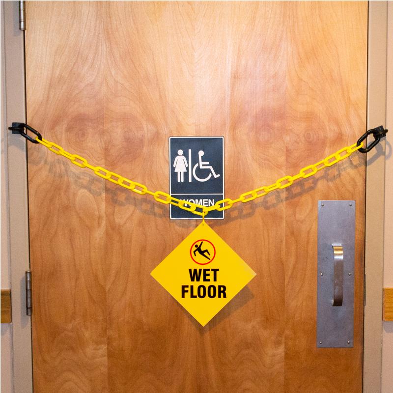 Wet Floor Sign Janitorial Kit Sku Mysafetysign