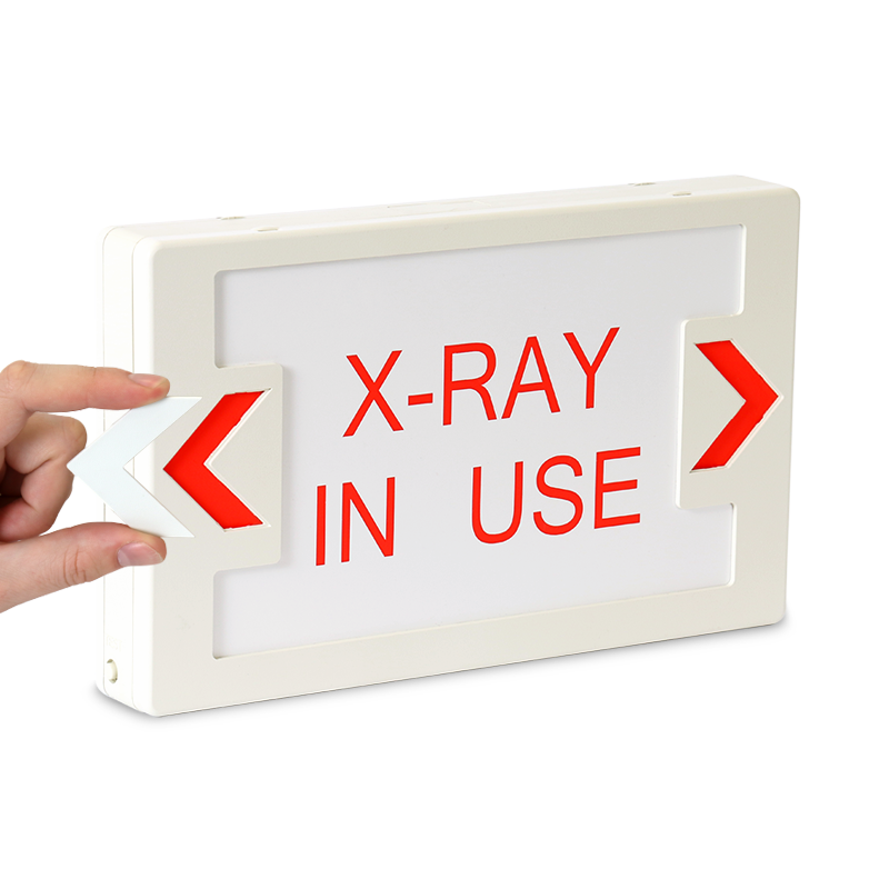 X Ray In Use Led Exit Sign With Battery Backup Sku Exit