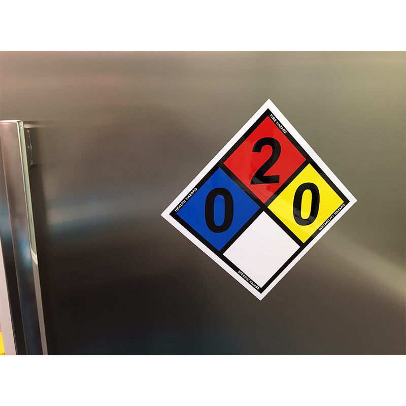 diamond safety compliancesigns com signs pin hazmat at nfpa diamonds labels
