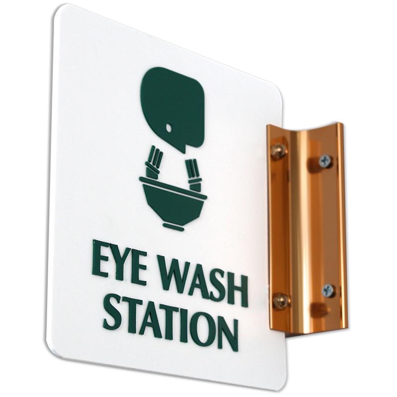 Eye Wash Station With Symbol 2 Sided Sign Sku Se 1750