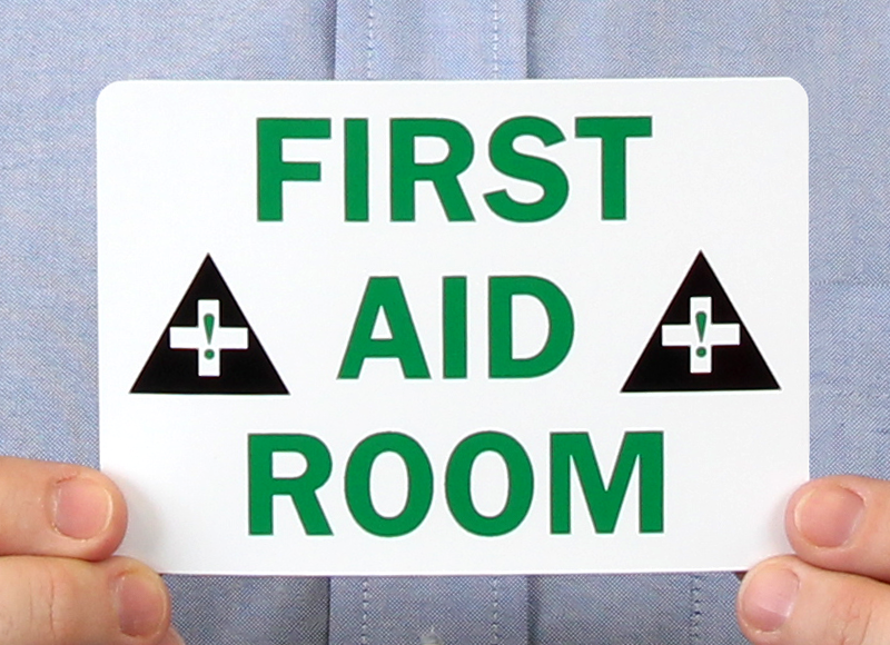 First Aid Room Signs