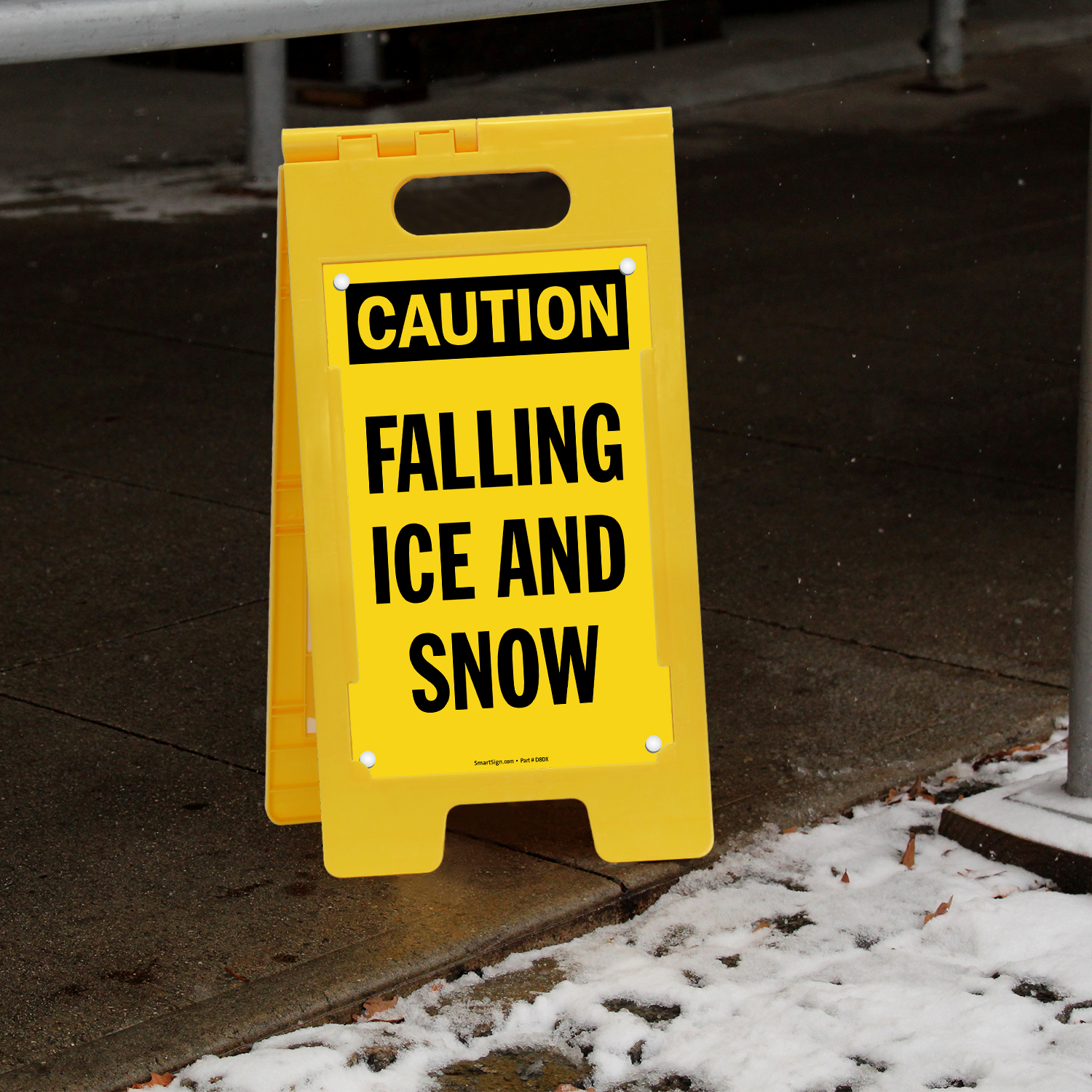 Caution Falling Ice And Snow FloorBoss Signs