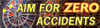 Aim for ZERO Accidents Banner