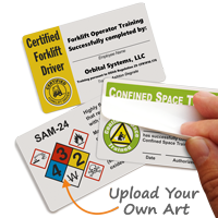 Custom Self-Laminating Wallet Card