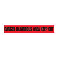 Danger: Hazardous Area Keep Out Barricade Tape