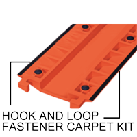 Carpet Traction Kit for Cable Protectors
