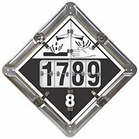 5 Legend DigiLock™ Placard, Aluminum (unpainted)