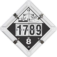 5 Legend DigiLock™ Placard, Aluminum (white)
