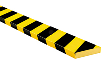 Surface Protection Bumper Guard Type S1, Black-Yellow