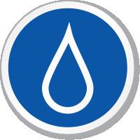 Blood Symbol ISO Circle Sign