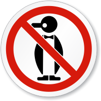 Do Not Freeze Symbol ISO Prohibition Circular Sign