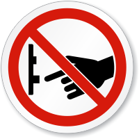 Do Not Turn Off Switch ISO Sign