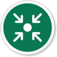 Muster Point Symbol ISO Circle Sign