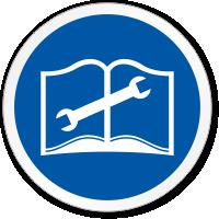 Read Service Manual ISO Mandatory Circle Sign