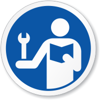 Consult Service Manual Symbol ISO Sign