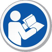 Read Operators Manual Symbol ISO Sign