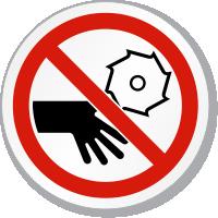 Rotating Blade ISO Circle Sign