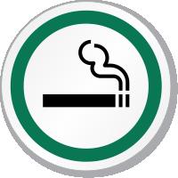 Smoking Symbol ISO Circle Sign