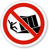 Unsupported Loading Dock Symbol ISO Sign