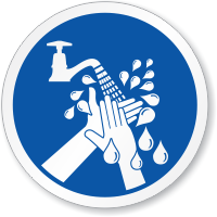Wash Your Hands ISO Sign