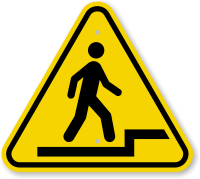 ISO Watch Step Up Symbol Sign