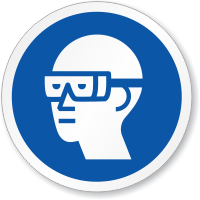 Wear Safety Goggles Symbol ISO Sign