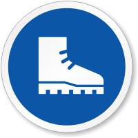 Wear Foot Protection ISO Sign