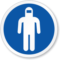 Wear Full Body Protection ISO Sign